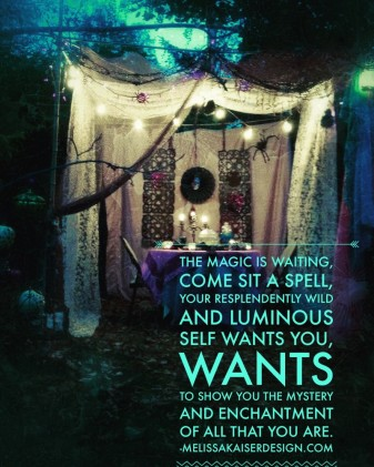 Come join us in the gypsy witch tent
