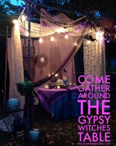 the gypsy witch table
